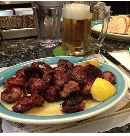 Lefteris Gyro: the Greek sausage