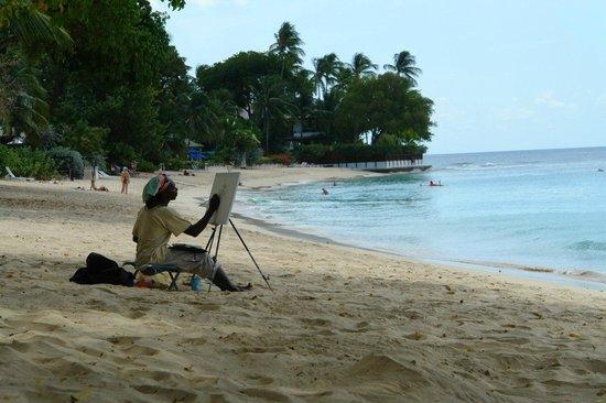 Legend Garden Condos: Тот самый хороший пляж слева от Маллинза