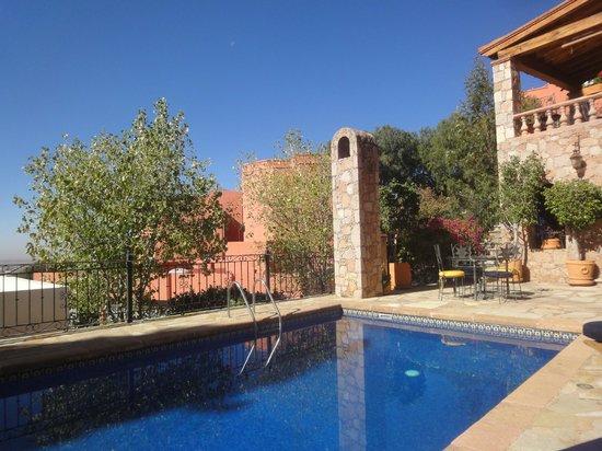 Casa Estrella de la Valenciana: Pool Area