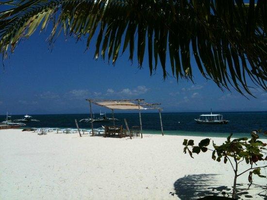 AABANA Beach & Watersport Resort Malapascua: most beautiful beach