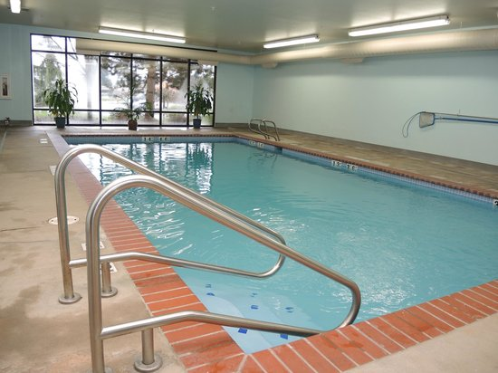 Evergreen Inn and Suites: Indoor Pool