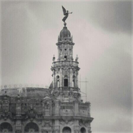 Torre del Gran Teatro de La Habana