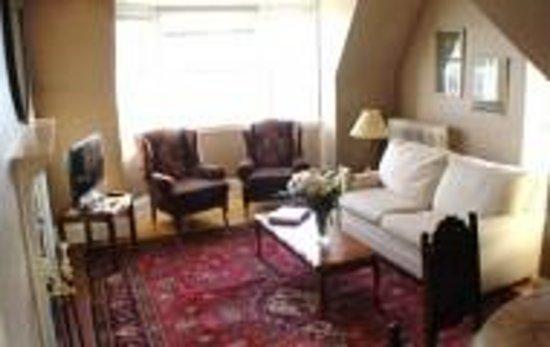 Ashbury House B&B: Living room in Family Apartment