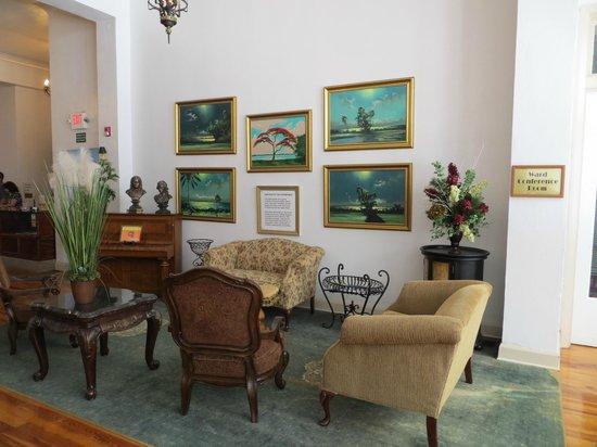 The Hotel Jacaranda : Lobby