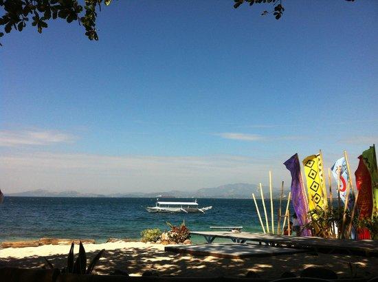 Camayan Beach Resort and Hotel: lovely beach on a sunny day