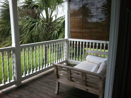 COMO Parrot Cay, Turks and Caicos: Room balcony
