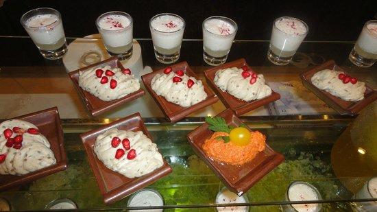 Constance Ephelia: un des buffets