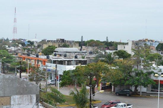 Ramada Cancun City : Vue de notre chambre