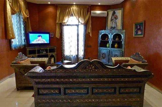 Dar Ouladna : hotel lobby