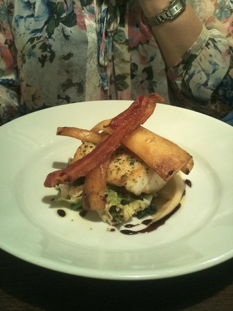 The Square At Porthleven: Main course