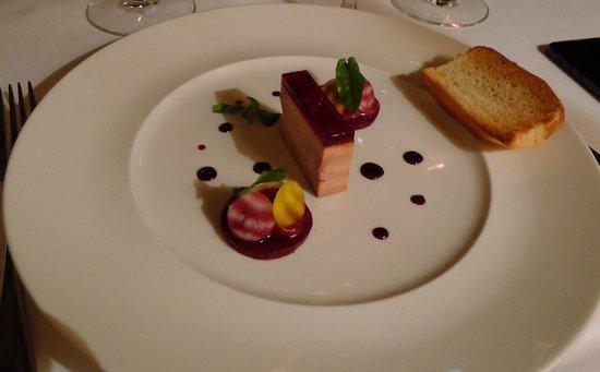 Le Restaurant : Фуа Гра