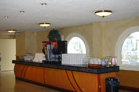 Preston Palace Almelo: koffie corner