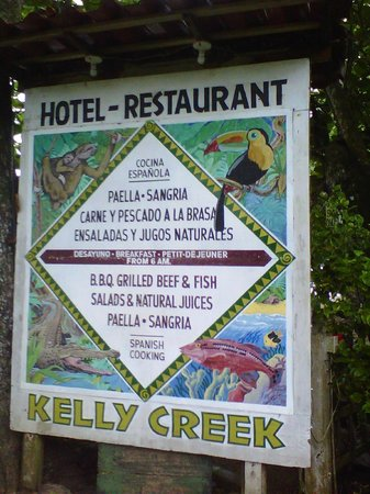 Kelly Creek Hotel-Restaurante : Kelly Creek