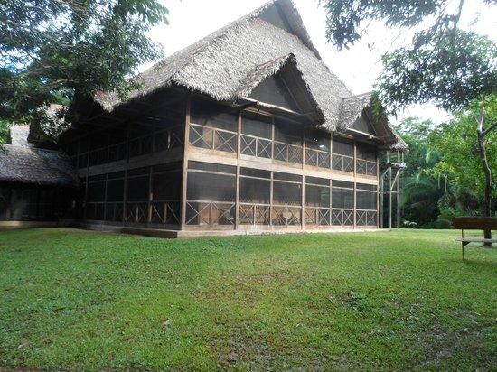 Inkaterra Reserva Amazonica: big house