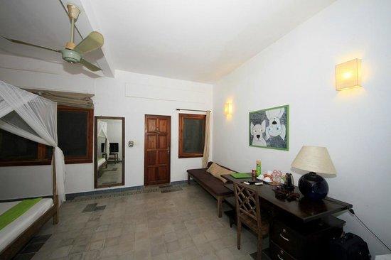 The Kabiki: Our large but basic room.
