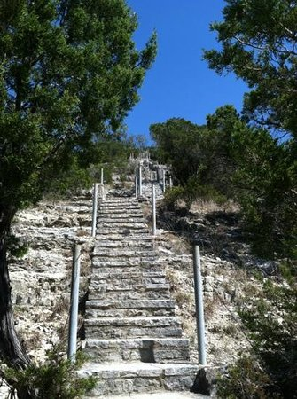 stairway to heaven picture of lookout mountain wimberley
