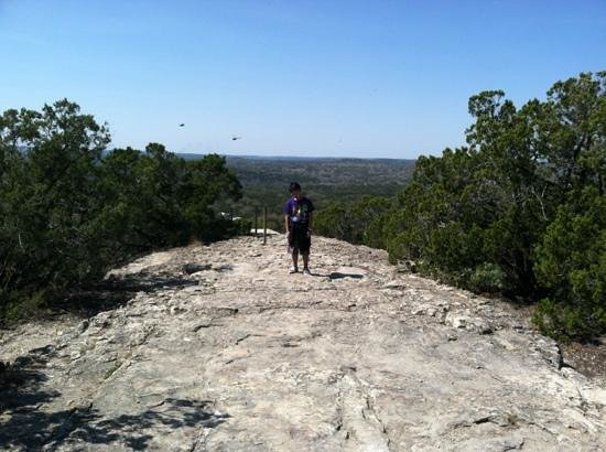 Wimberley, TX:                                     top of the world!