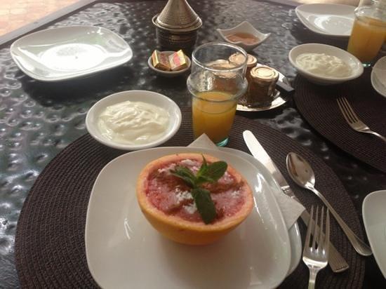 Riad Altair: desayuno exquisito