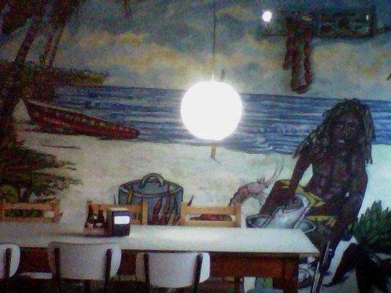 Restaurant Tipico Cahuita: Cahuita feel