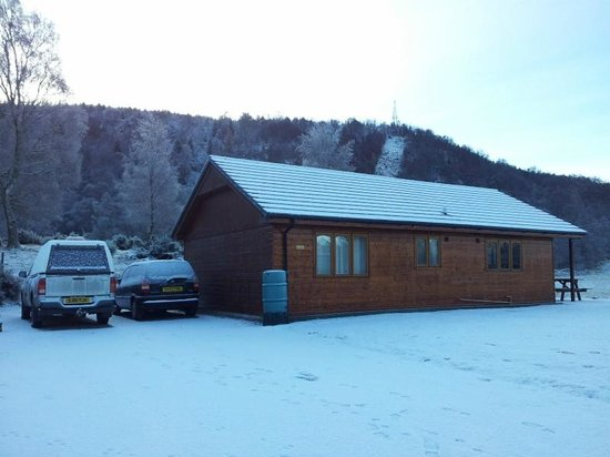 Lochletter Lodges : Even in winter its lovely !!!!!