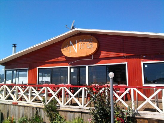 Tolten, Chile: restaurant Nuria, Queule