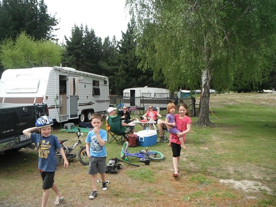 Woodend Beach Holiday Park: Safe for kids