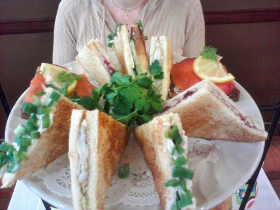 Chado Tea Room: Assortment of tea sandwiches