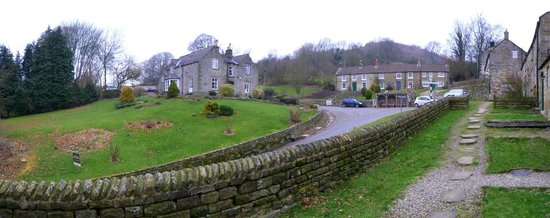 The Inn at Hawnby: Panorama shot from the stables