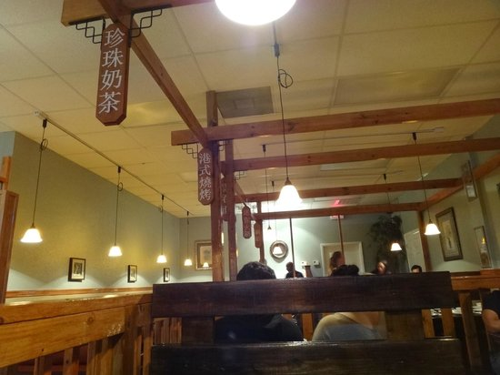 Noodles and Rice Cafe:                   Dining Room