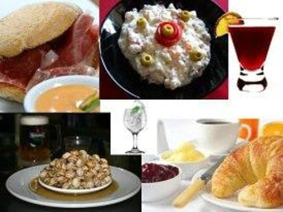 La Taberna de Pradamont: Molletes, Ensaladilla, Caracoles TODO CASERO con la receta de la abuela