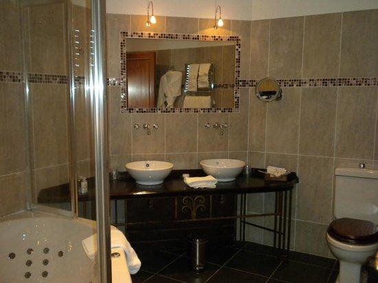 Abbaye de la Bussiere: Bathroom