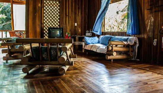Disfrutalo Ranchos y Villas: Sala - Habitación Villa Madera
