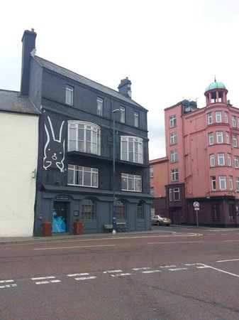 The Rabbit Rooms: outside on the quay