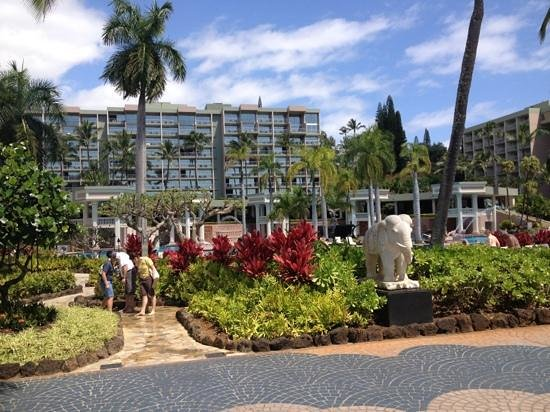 Kaua'i Marriott Resort: from the beach