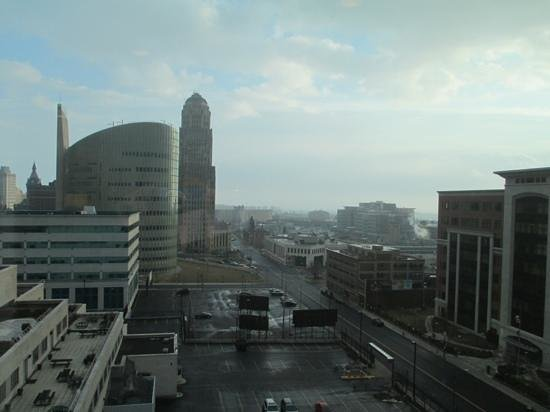 Embassy Suites by Hilton Buffalo: view from our room