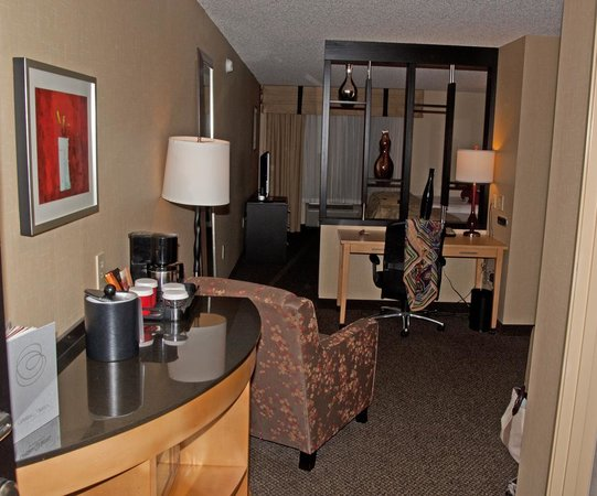 DoubleTree by Hilton Hotel Savannah Airport: Living Room
