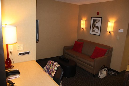 DoubleTree by Hilton Hotel Savannah Airport : Living Room