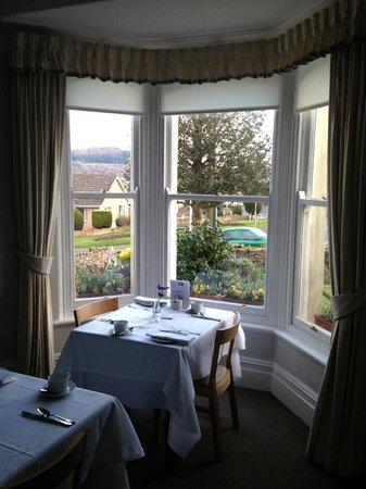 Swan Hill House: breakfast view