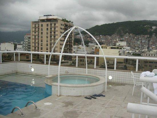 Atlantis Copacabana: La terraza