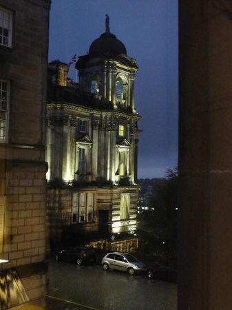 Fraser Suites Edinburgh:                   View from room