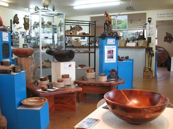The Woodturners Kauri Gallery and Studio