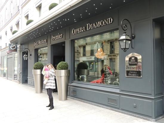 BEST WESTERN Premier Opera Diamond: Excelente hotel!!!