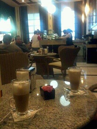 Hotel Riu Palace Bavaro: Capuccino cafe, um dos melhores lugares do hotel o brownie e excelente