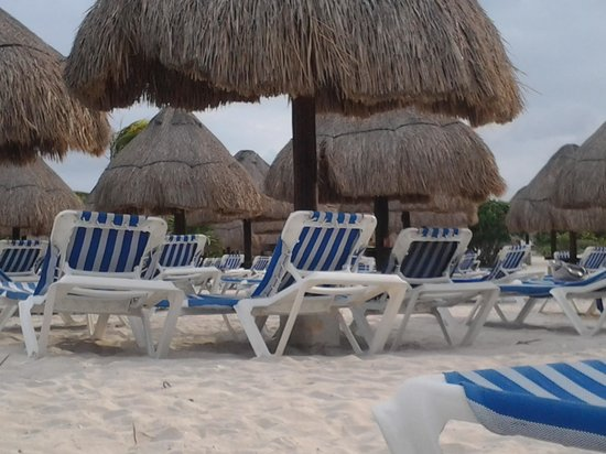 Grand Sirenis Mayan Beach Resort & Spa: alla playa