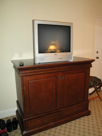 Marina Inn at Grande Dunes:                   Dated Television Set