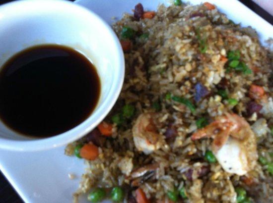 Saigon Kitchen : Shrimp, Pork, & Sausage Fried Rice