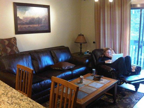فيل راكيت كلوب ماونتن ريزورت: Livingroom