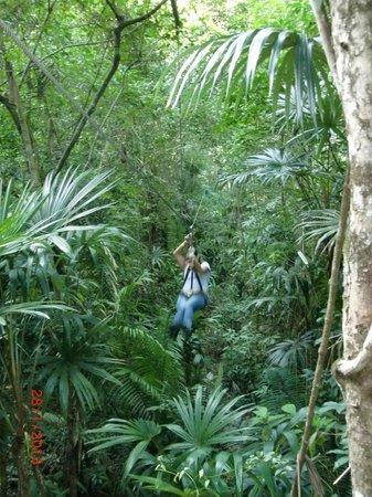 Ixpanpajul Nature Park: Wooooooo!