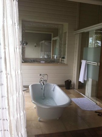 Asclepios Wellness & Healing Retreat: Bathroom-