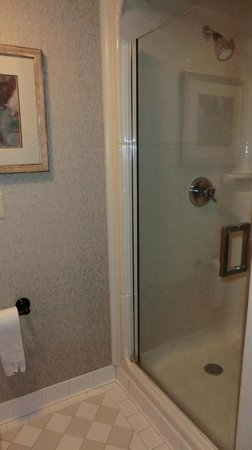 Sleep Inn at Court Square: shower
